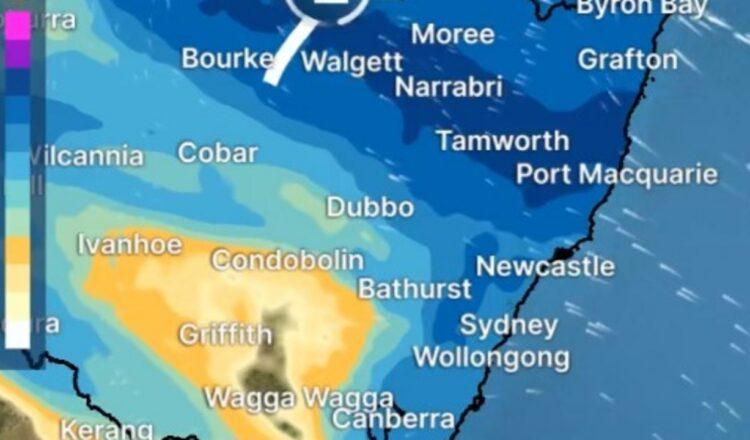 Clima: Lluvia prevista para Sydney, Brisbane, Melbourne, Canberra