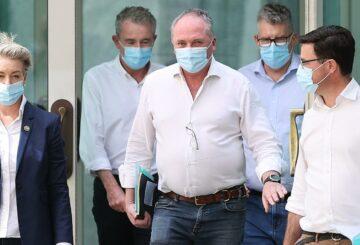 El líder nacional Barnaby Joyce respalda el nuevo objetivo climático de cero neto para 2050