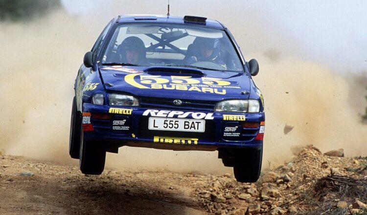 Los australianos venden el famoso Subaru del rally de Colin McRae por Bitcoin