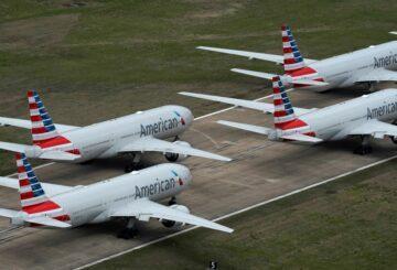 United Airlines planes.  REUTERS/Loren Elliott
