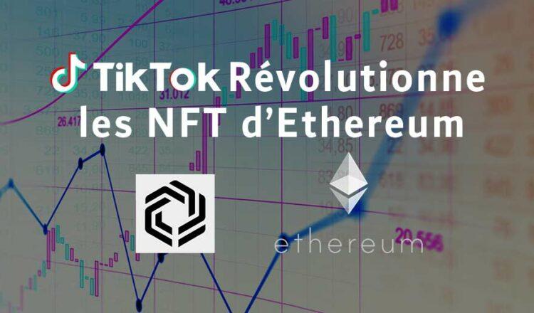 82 millones de euros recaudados para usar Ethereum en TikTok