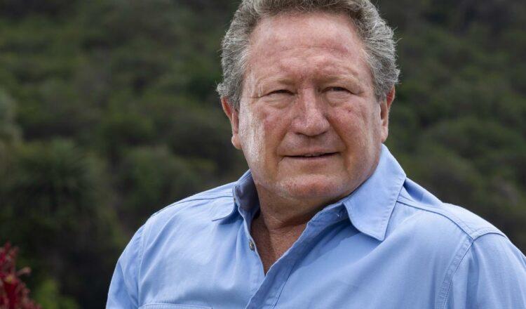 Qld: el magnate de la minería Andrew 'Twiggy' Forrest ridiculiza a los negadores del clima